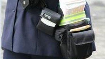 Diensttasche Verkehrsüberwachung