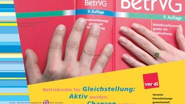 Titelbild des Faltblattes zur Gleichstellung
