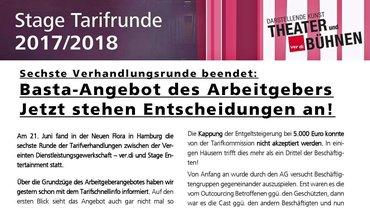 Fachgruppe Theater+Bühnen der ver.di