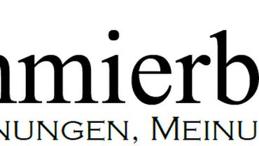 """Logo des """"Schmierblatt"""". Betriebszeitung der verdi Betriebsgruppe im BA-IT-Systemhaus der Bundesagentur für Arbeit"""
