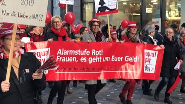 Equal Pay Day 18.03.2019 in Dortmund