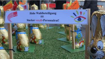 Flashmob am 17.03.2016 zur Personalratswahl Dortmund