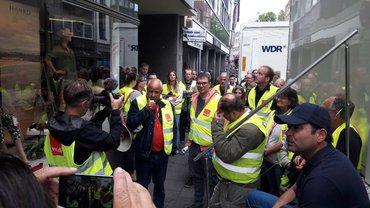 Streik beim WDR