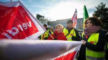 Streik bei der DB-Direkt