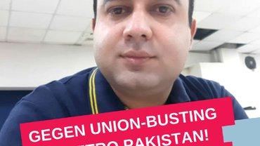 Generalsekretär der Metro Habib Gewerkschaft