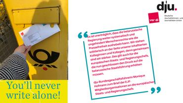 Zitat von dju-Bundesgeschäftsführerin Monique Hofmann