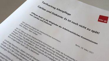 Offener Brief an Caritas und Diakonie