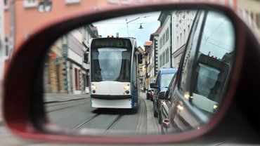 Mit dem öffentlichen Personennahverkehr zu fahren, ist besser fürs Klima