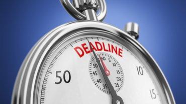 Stoppuhr Deadline Zeit Druck Frist