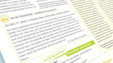 Gesundheit Soziale Dienste Wohlfahrt und Kirchen (ver.di), drei.78, Gesundheitspolitik,